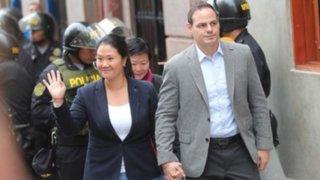 Poder Judicial aclara que Keiko Fujimori sí puede comunicarse con su esposo y abogada