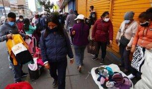 Ambulantes aprovechan Fiestas Patrias e invaden avenidas Grau y Manco Cápac