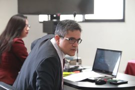 Asistente del fiscal José Domingo Pérez dio positivo al COVID-19