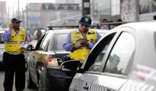 Municipio de Surco negó haber iniciado ataques a un grupo de taxistas durante un operativo