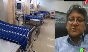 Vocero de clínicas privadas confirma que no hay disponibilidad de camas UCI