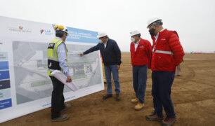 Presidente Vizcarra supervisó trabajos de ampliación del Aeropuerto Jorge Chávez