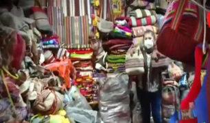 Cusco: Vendedores de artesanías sin ingresos por ausencia de turistas