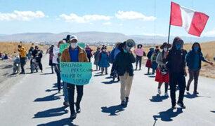 Cusco: pobladores solicitan presencia del Premier para iniciar diálogo por conflicto con minera