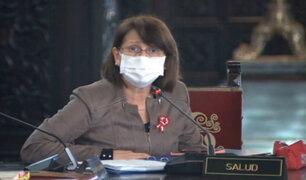 Pilar Mazzetti anunció que casos positivos seguirán subiendo