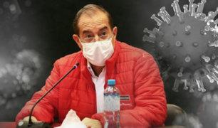 Ministro Martos exhorta a dejar diferencias y sumarse a lucha contra el Covid-19