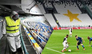 Italia permitiría público en los estadios de fútbol en setiembre