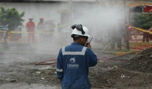 San Miguel: alarma y temor sintieron vecinos tras fuga de gas