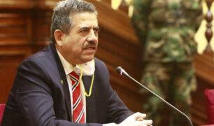 """Manuel Merino: """"lamento las afirmaciones sobre un supuesto complot"""""""