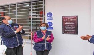 Rímac: abre sus puertas la primera farmacia que venderá medicamentos a costo social