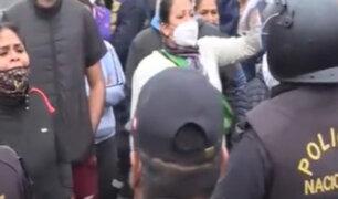Callao: Ambulantes protestan y exigen un lugar seguro para trabajar