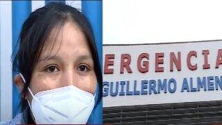 Hospital Almenara: Denuncian que recién nacido sufrió graves quemaduras al caerle agua caliente