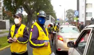 Avenida Arequipa: Realizaron operativo contra el transporte informal