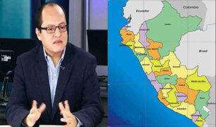 Víctor Quijada: La descentralización del país ha sido un fracaso