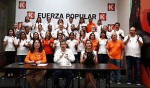 Distintas personalidades rechazaron pedido de suspensión de partido Fuerza Popular
