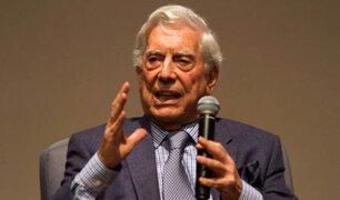 Vargas Llosa: Cuando se definan los candidatos a las Elecciones del 2021 me pronunciaré