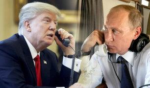 Donald Trump y Vladimir Putin hablan sobre control de armas y la pandemia