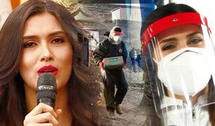 Miss Perú Kelin Rivera lleva ayuda a los más necesitados en VMT