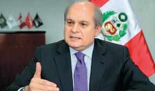 Pedro Cateriano reveló que Acuña le aseguró el apoyo de APP para el voto de confianza