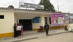 Pasco: vecinos protestan por demolición de hospital en plena pandemia de Covid-19