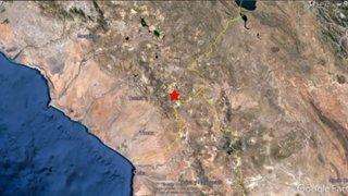 Tacna: cinco sismos se registraron en Tarata en las últimas horas