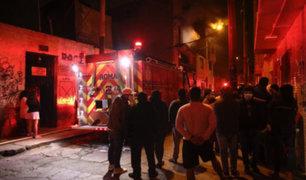Rímac: anciana de 80 años murió tras incendio en su vivienda