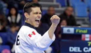 Hugo Del Castillo: peruano ganó medalla de oro en torneo virtual de taekwondo