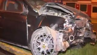 Conductor abandona su vehículo tras sufrir aparatoso accidente en Bellavista