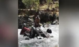 Cañete: auto cae a un abismo y deja un muerto y un desaparecido