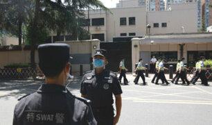 China asume el control del consulado estadounidense