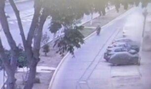 Bellavista: deflagración destruyó lavandería y casi mata a motociclista