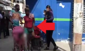 Detienen a 4 sujetos que usaban a niños para pedir limosna en Tumbes