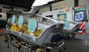 Estados Unidos donó al Perú modernas cápsulas para trasladar a pacientes infectados