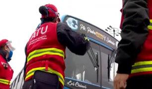 Sancionan a choferes por permitir que pasajeros viajen sin protector facial