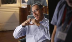 Martín Vizcarra: publican fotos inéditas horas antes que dé su último mensaje a la Nación