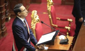 Presidente Martín Vizcarra dirige mensaje a la Nación por Fiestas Patrias