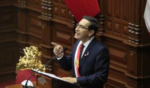 Martín Vizcarra: Fuerzas Armadas y la Policía enfrentarán juntos la inseguridad hasta fin de año