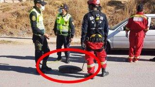 Cusco: joven de 17 años cayó en un pozo y desapareció en San Jerónimo