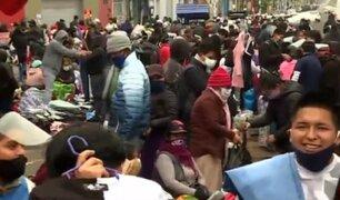 La Victoria: comercio ambulatorio se apoderó de las calles en Fiestas Patrias