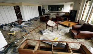 Colombia: consulado de Venezuela en Bogotá en ruinas tras saqueo