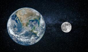 [FOTO] Misión china a Marte capta a la Tierra y la Luna desde el espacio