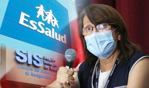 """Mazzetti sobre unificación del SIS y EsSalud: """"no se va a arreglar el sector salud de un año a otro"""""""