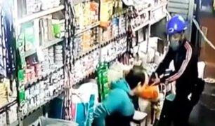 SMP: dueño de bodega se enfrentó a delincuentes armados que asaltaron su negocio