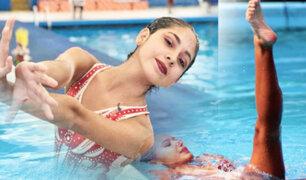 Peruana logra tercer lugar en Mundial UANA de natación artística