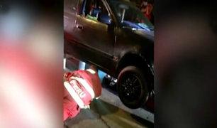 Callao: mujer queda bajo un vehículo al ser arrollada por un conductor