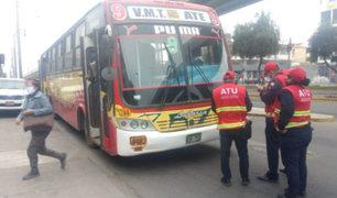 Surco: sancionan a choferes con S/ 430 por trasladar a pasajeros sin protector facial