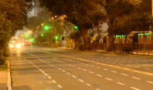 Así lució la avenida Brasil tras suspensión de la Parada Militar
