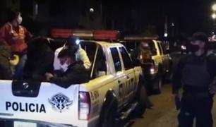 Arequipa: detienen a más 30 personas que celebraban Fiestas Patrias burlando las medidas sanitarias
