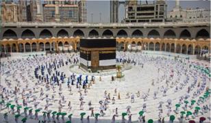 Arabia Saudita: inician peregrinación anual a la Meca bajo estrictas medidas sanitarias