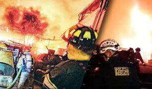 Iquitos: incendio destruye cuatro viviendas en distrito de San Juan Bautista